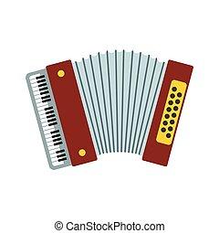 Retro accordion icon