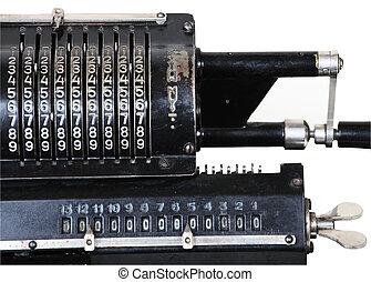 retro adding machine