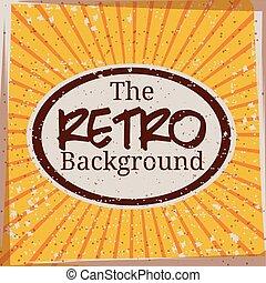 Retro and Vintage background design
