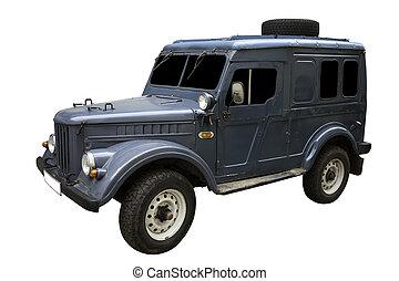 Retro Army Car