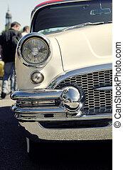retro, auto, -, amerikanische , klassiker