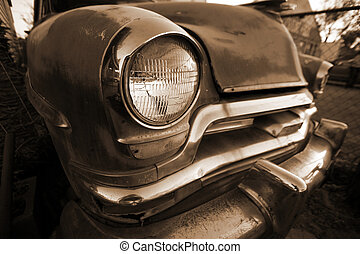 retro, auto