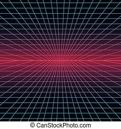 Retro Background. Vector illustration