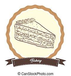 Retro bakery product