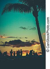 Retro Beach Party