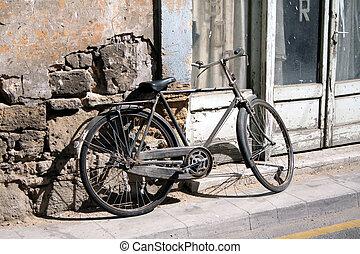 retro bicycle ..