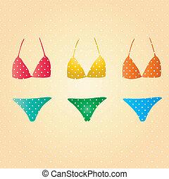 Retro bikini