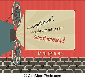 retro, bioscoop