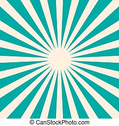 Retro Blue Background with Star Shape. Vector Vintage Empty Backdrop.