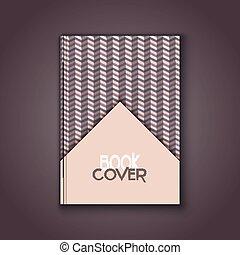 retro book cover