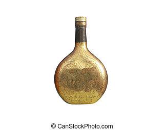 retro bottle whisky