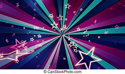 Retro Bright Stars Loop
