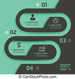 Retro business template style. Vector illustration. can be...