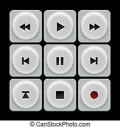 Retro Button Set