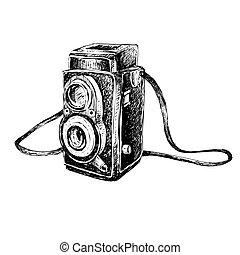 Retro Camera Doodle