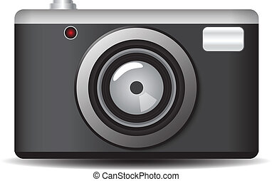 retro camera vector illustration