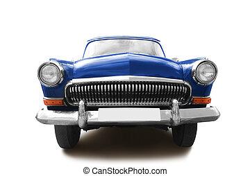 retro car isolated