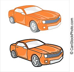 Retro Cars Vector Designs