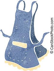 retro cartoon apron