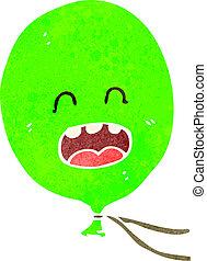 retro cartoon balloon