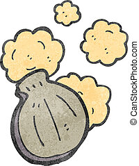 retro cartoon oyster