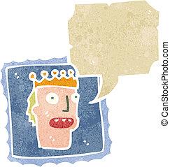 retro cartoon postal stamp