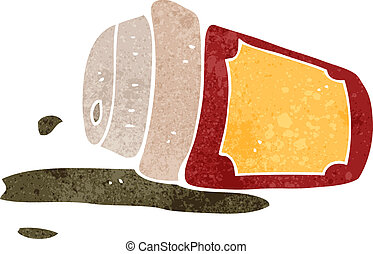 Spilled coffee Clipart Vector Graphics. 651 Spilled coffee ...