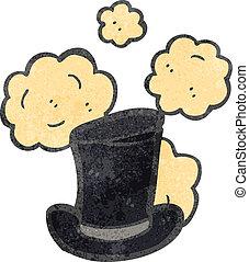 retro cartoon top hat