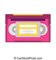 retro cassette icon