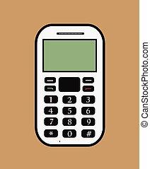 Retro Cell Phone