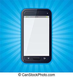 Retro Cellphone Background