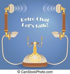 Retro Chat. Let?s talk!