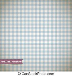 Retro Checked Pattern Vector