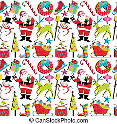 Retro Christmas Wallpaper
