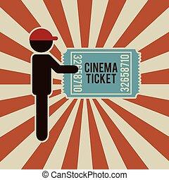 retro cinema design