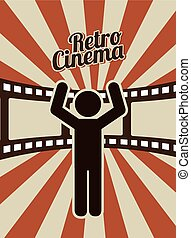 retro cinema design