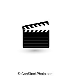 Retro cinema icon