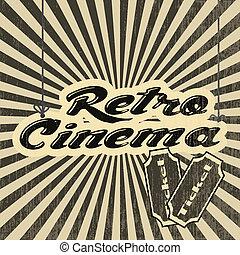 retro, cinema