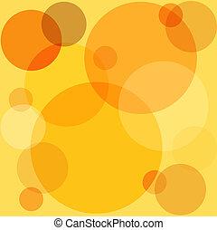 Retro circles - Retro style circle background