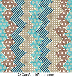 retro cloth seamless pattern with grunge effect
