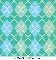 retro, colorito, argile, modello, o, fondo, -, blu verde