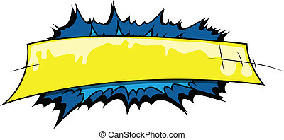 Comic Expression Background Vector