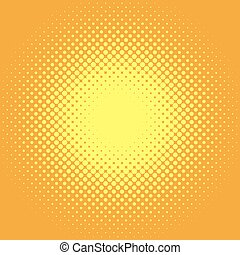Retro comic pop background dotted halftone design