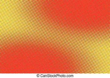 retro comic red pink background raster gradient halftone