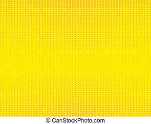 retro comic yellow and orange background raster gradient halftone pop art retro style