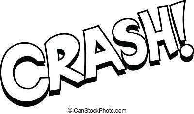 Retro Crash Comic Text