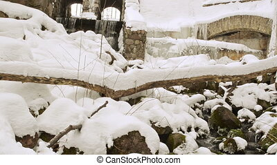 retro dam creek winter