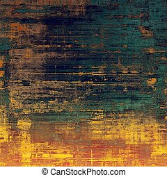 Retro design composition, grunge background or textured backdrop. With different color patterns: blue; yellow (beige); brown; red (orange); pink