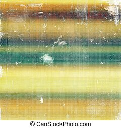Retro design composition, grunge background or textured backdrop. With different color patterns: yellow (beige); brown; green; blue