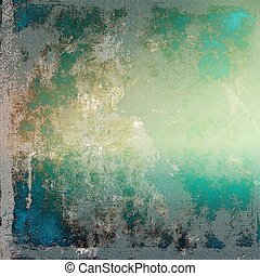 Retro design on grunge background or aged faded texture. With different color patterns: yellow (beige); brown; green; blue; gray; cyan